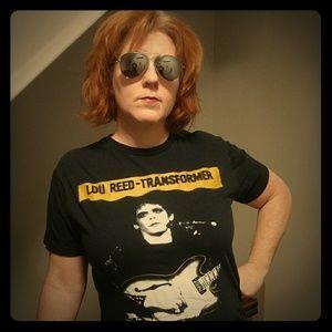 Lou Reed Transformer Era Large T-Shirt